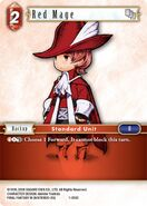 Red Mage 1-003C from FFTCG Opus