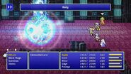 Rosa using Holy from FFIV Pixel Remaster