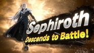 Sephiroth Descends to Battle