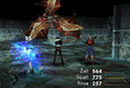 Buel uses Thunder from FFVIII Remastered