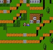 FFIII NES Ancient's Village