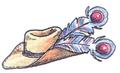 Feathered Hat FFIII Art