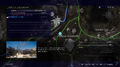 Photo Op Lestallum quest map from FFXV