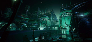Sector 0 artwork for Final Fantasy VII Remake