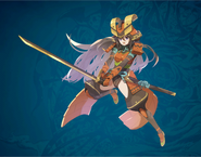 FFD2 Parai Samurai Art