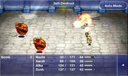 FFD Self-Destruct