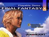 Final Fantasy X Playable Demo