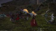 Llofii in battle