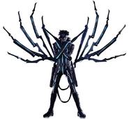 Nero from FFVII Remake Intergrade render