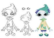 Sagi concept lines 1 for Final Fantasy Unlimited