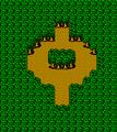 FFIII NES Chocobo Woods Map