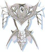 FFVI Golden Armor Artwork