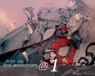 FFXIV 1st Anniversary Countdown 1 Day