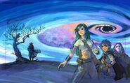 Final Fantasy Unlimited preliminary illustration 10