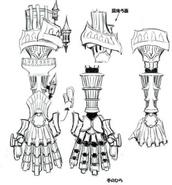 Gauntlet concept art for World of Final Fantasy