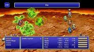Rydia using Bio from FFIV Pixel Remaster