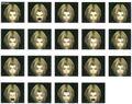 Zidane CG Faces FFIX Art