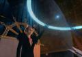 Edea repels a sniper bullet from FFVIII Remastered