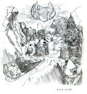 Gongaga FFVII Sketch 2