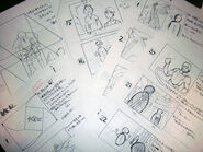 Vagrant Story storyboards