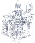 Alexandria Bell Tower FFIX Art