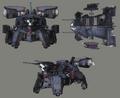 Crab Warden artwork for FFVII Remake