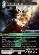 Onion Knight 4-054L from FFTCG Opus