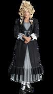 Cloud dress 1 from FFVII Remake render