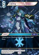 Shiva 3-032R from FFTCG Opus