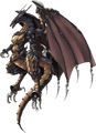 Bahamut from Crisis Core FFVII