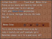 Combat King 002 Meteor Strike from FFVIII Remastered