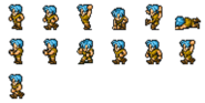 FFRK Thief FFI sprites