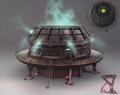 Mako filtration unit artwork for FFVII Remake