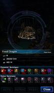 FFBE Fossil Dragon Analyze