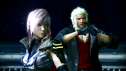 FFXIII-2 Lightning and Snow Arena