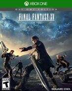 Final Fantasy XV's completed North American box art Xbox One