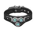 Red XIII's equipment artwork for Final Fantasy VII Remake
