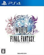 World of Final Fantasy PS4 JPCover