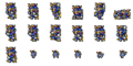 FFRK Warrior of Light sprites