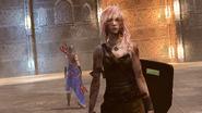 LRFFXIII Lara Croft TOMB RAIDER Gear 's Victory Pose