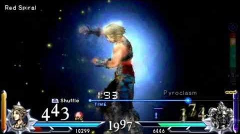 Dissidia 012 Duodecim Final Fantasy - Vaan's EX Burst Quickening (English)