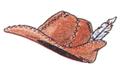 Leather Cap FFIII Art