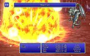 SMN using Megaflare from FFIII Pixel Remaster