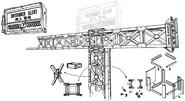 Support structure artwork for FFVII Remake