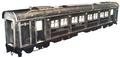 Train car artwork for FFVII Remake