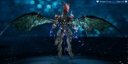 Whisper Bahamut from FFVII Remake Enemy Intel