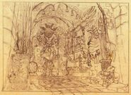 Burmecia Armory FFIX Sketch