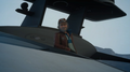 Cid Sophiar on the royal vessel in FFXV