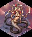 FFDII Marilith Sword Dance II Crystal