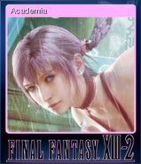 FFXIII-2 Steam Card Academia